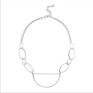 Happy Silver Necklace